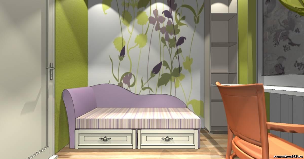 дизайн детской комнаты для девочки школьного возраста