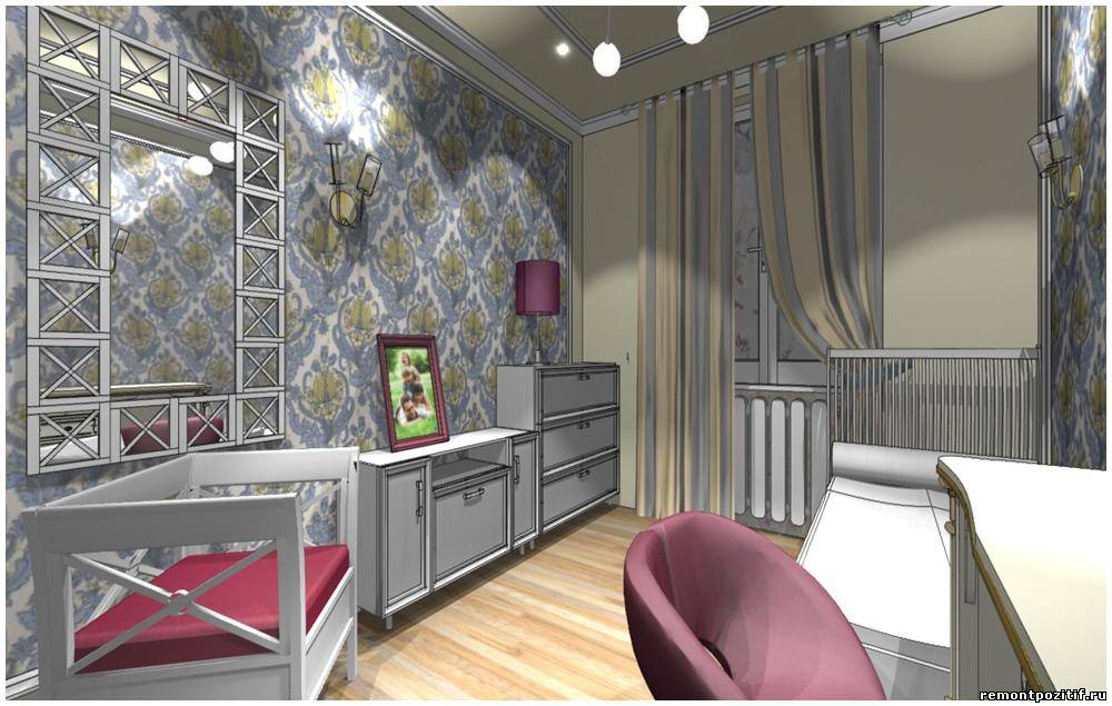 интерьер комнаты для молодой девушки