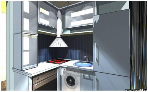 дизайн маленькой кухни 2х2.5 метра