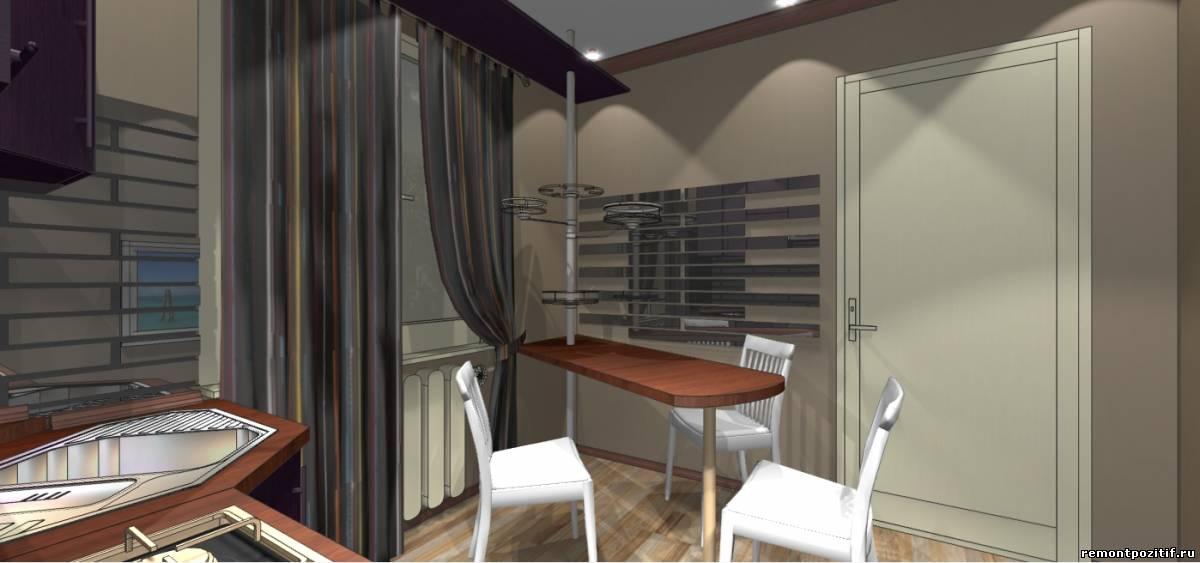 дизайн современной кухни 10 кв м