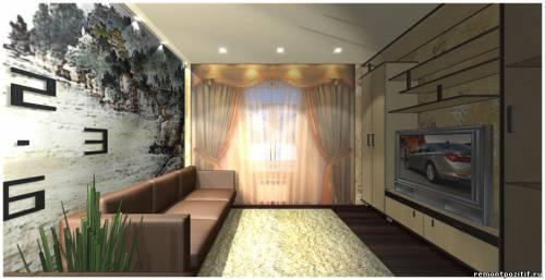 дизайн небольшой гостиной с китайскими мотивами