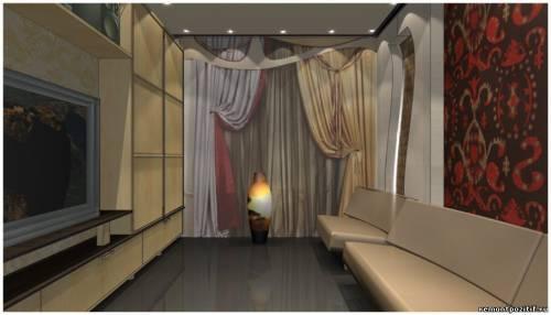 дизайн небольшой гостиной комнаты