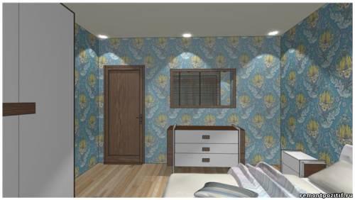 дизайн небольшой спальни в типовой квартире