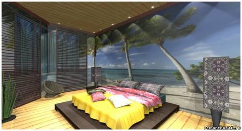 дизайн спальни в тайском стиле