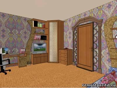 Дизайн комнаты юноши в арабском стиле