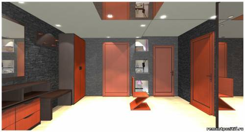 дизайн прихожей в типовой квартире дома серии копэ