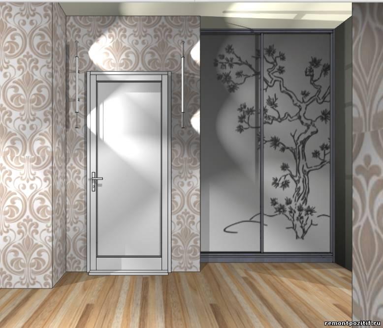 дизайн прихожей в типовой квартире пд 4