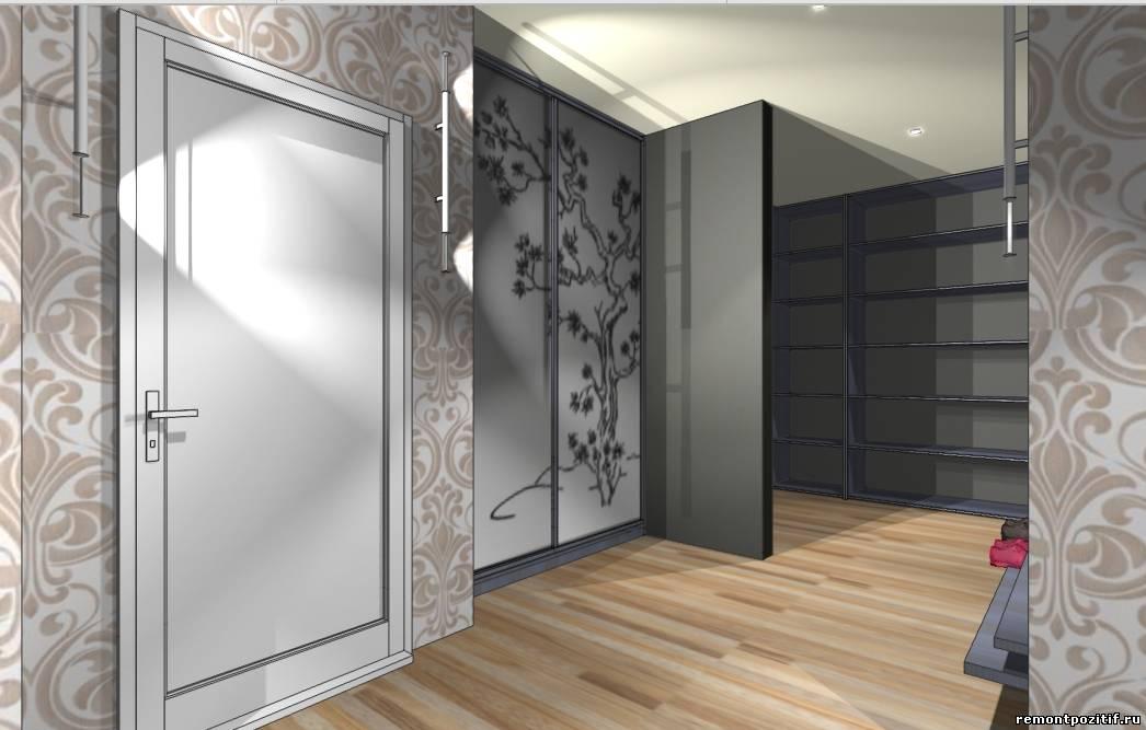 интерьер прихожей в типовой квартире пд 4
