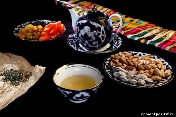 Чаепитие в Средней Азии