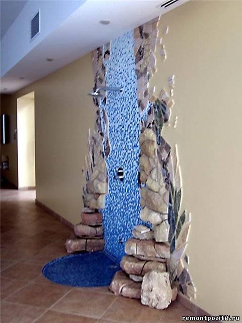 Как сделать водопад для дома в