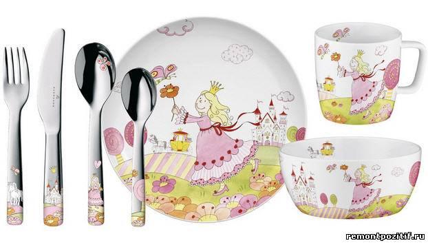 детская посуда для девочки