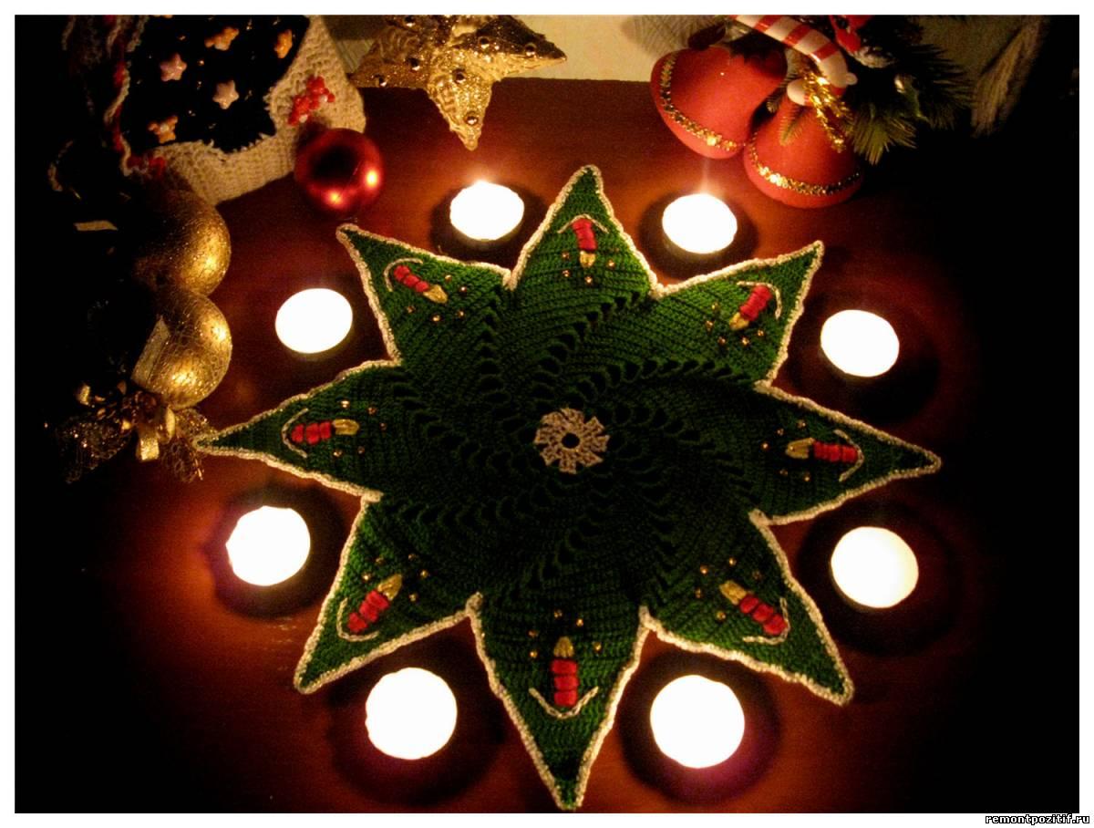 А поможет в этом волшебный крючок - новогоднее вязание крючком.