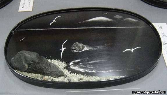 ландшафт в миниатюре бонсэки