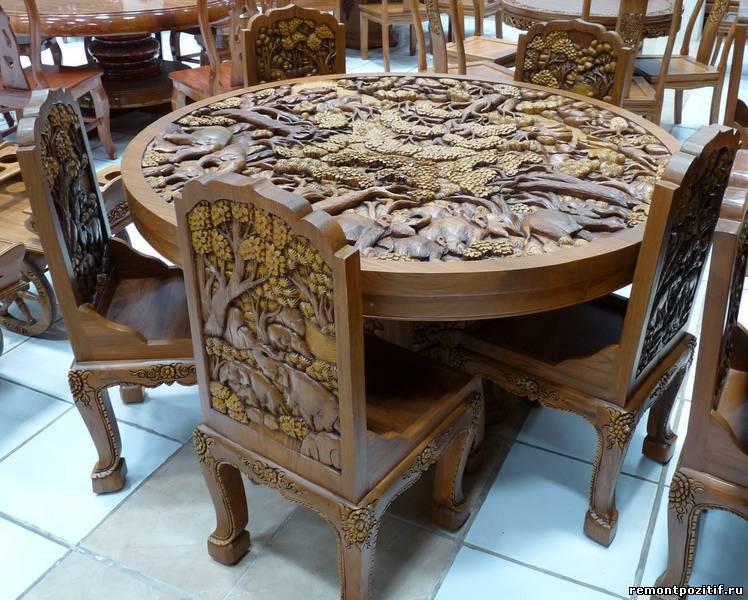 инкрустированная мебель