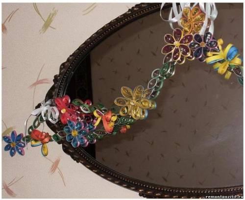 украшение гирлянда из цветов