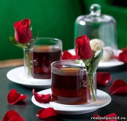 кружки с розами