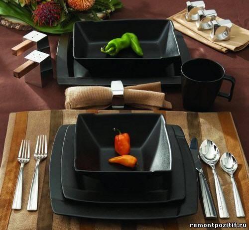 посуда из керамики для кухни