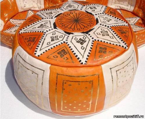марокканский пуфик