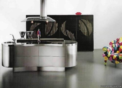 кухонный стол из металла