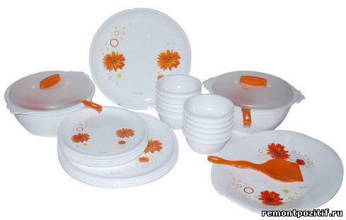 пластиковая посуда для кухни
