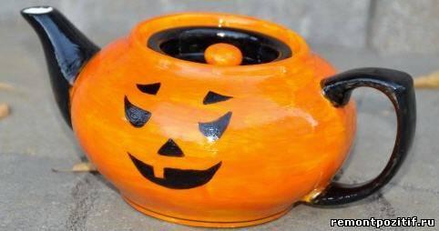 посуда к празднику хэллоуин