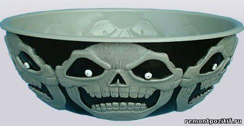 посуда к хэллоуину