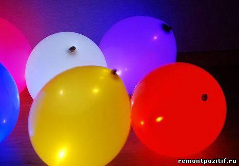 светящиеся шары для декора интерьера