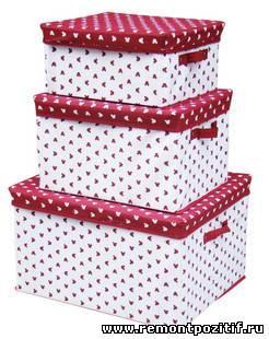 коробки для хранения одежды