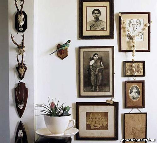 фотографии в дизайне стен