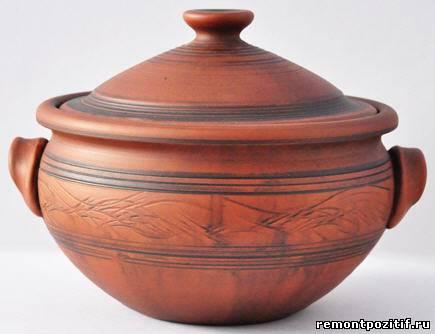 глиняная супница