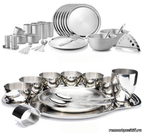 посуда из металла для кухни