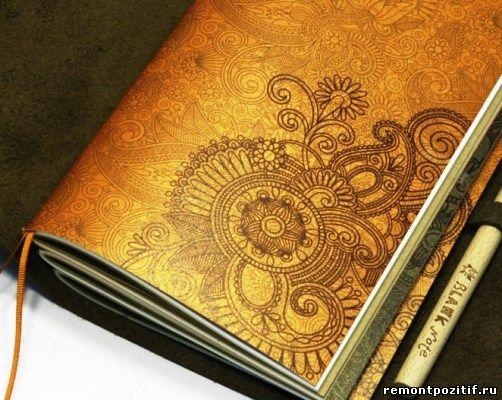 дневник с росписью мехенди