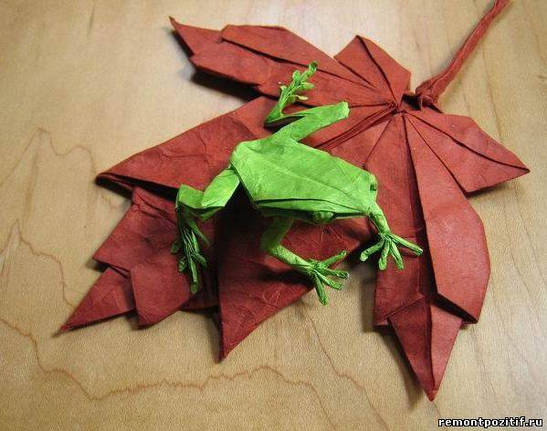 Японское искусство из бумаги оригами