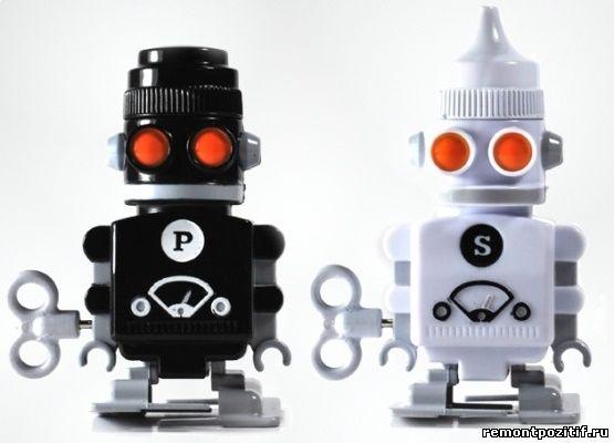 механические солонки – роботы