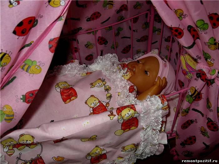 Постельное для малыша своими рукам