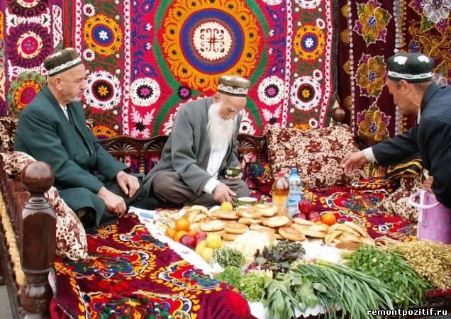 Средняя Азия – застолье