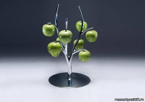 декор интерьера – яблочное дерево