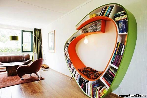 этажерка необычной формы