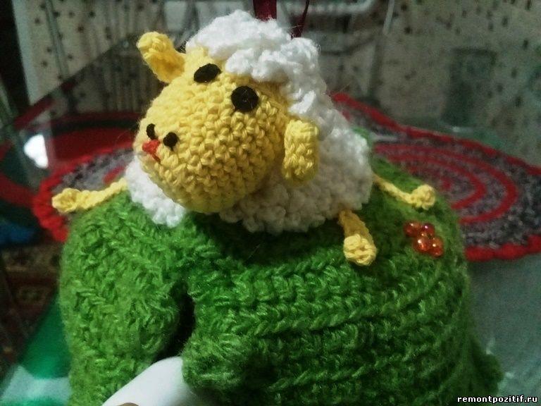 грелка-овечка для чайника