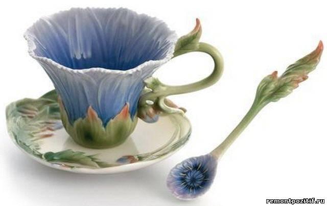 чашка из китайского фарфора