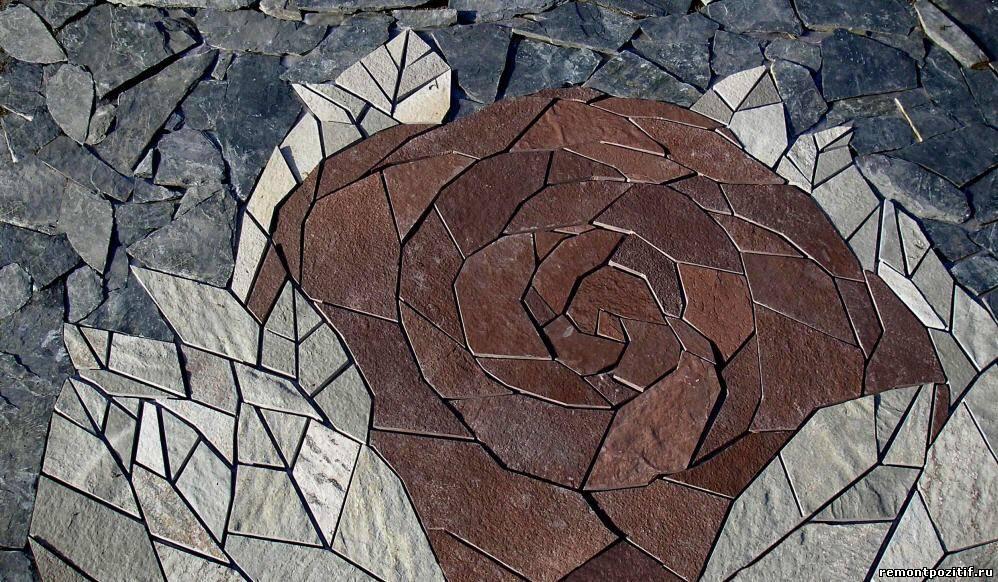 панно из каменной мозаики