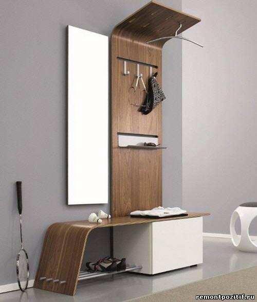 необычная мебель для прихожей