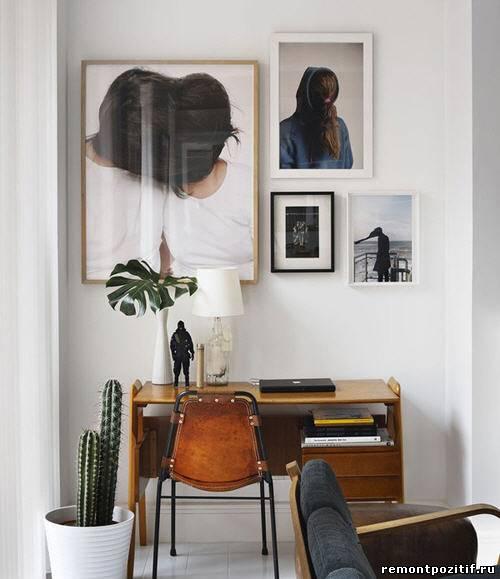 фотографии в декоре стен