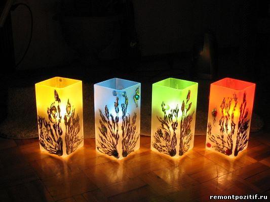 светильники из оргстекла
