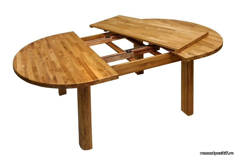 Как сделать овальный стол своими руками 18
