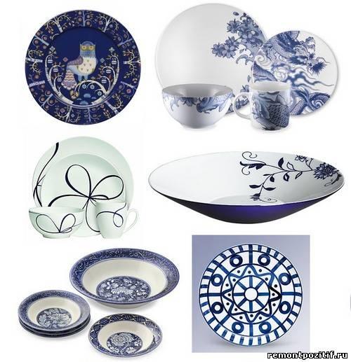 посуда для праздничной сервировки стола