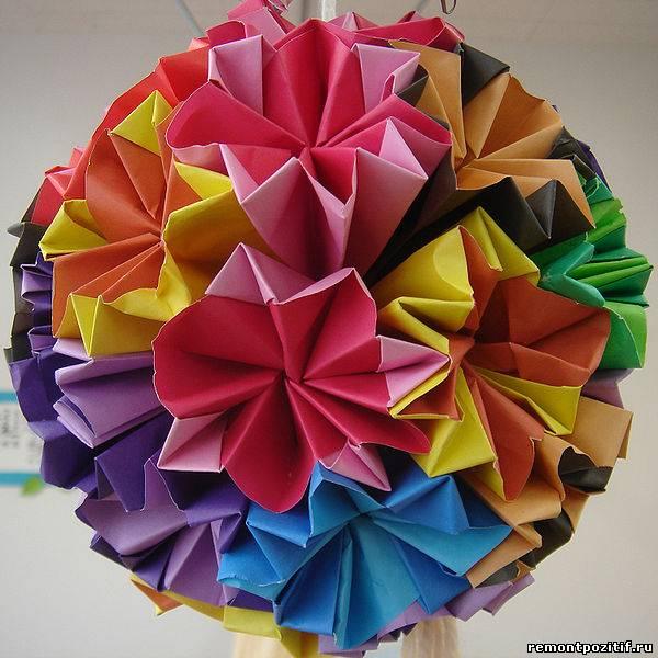 украшение в технике оригами