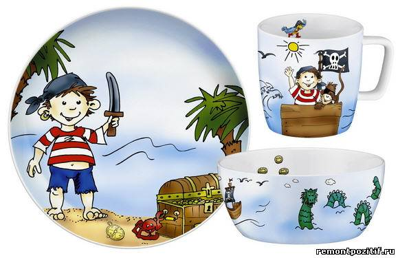 посуда для ребенка