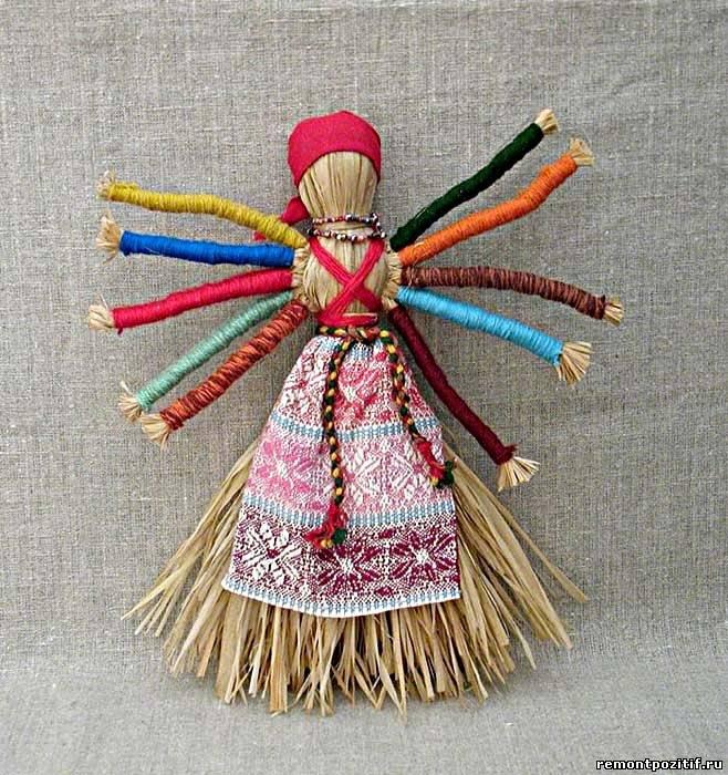 Куклы обереги для дома своими руками с фото