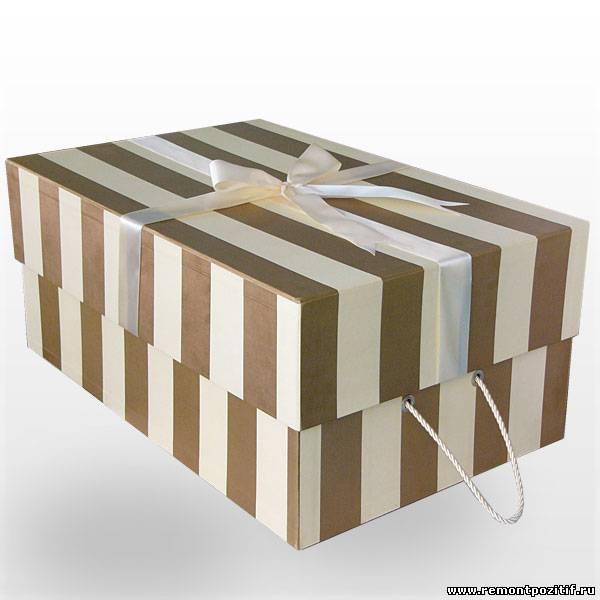 коробки для хранения вещей и одежды